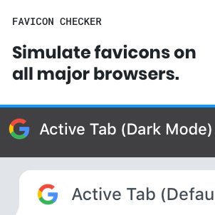 Favicon Checker—See how your favicon hold up across popular